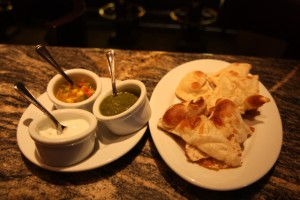 Indian Style Bread Service Appetizer