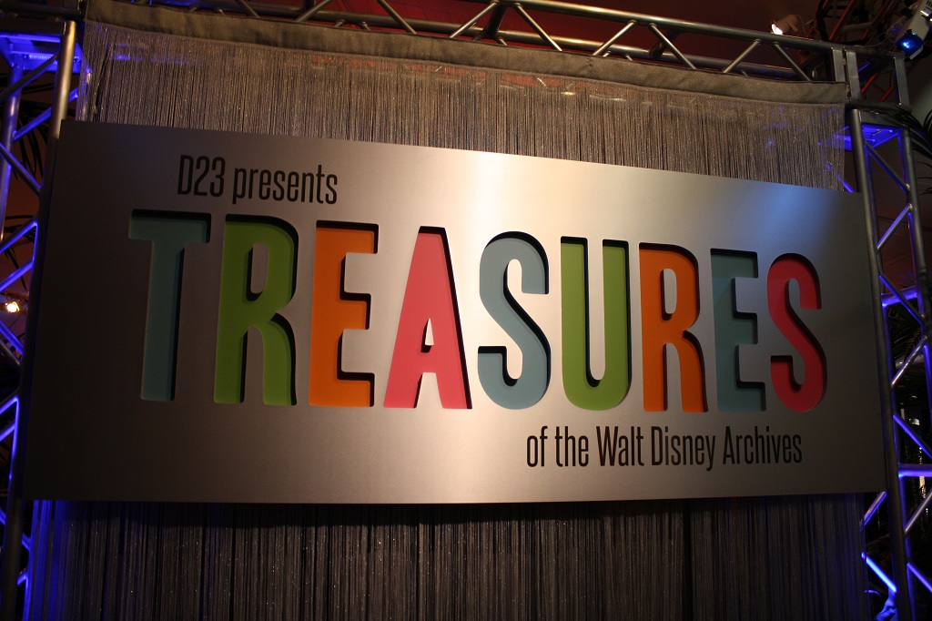 Photo Trip Report Treasures Of The Walt Disney Archives At The