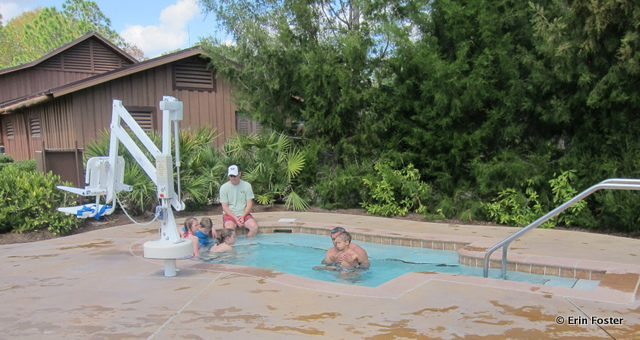 Fort Wilderness, Meadow hot tub