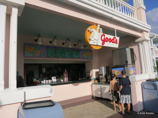Old Key West, Good's To Go snack bar