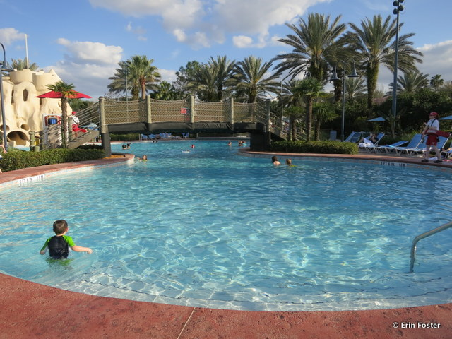 Old Key West, feature pool