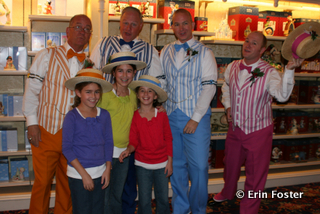 A photo with the Dapper Dans can be just as iconic as a photo with a character.