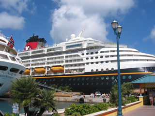 Sailings on any of the Disney cruise ships count toward your Castaway Club status.