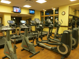 Some time in your resort fitness center can burn off your frustrations.