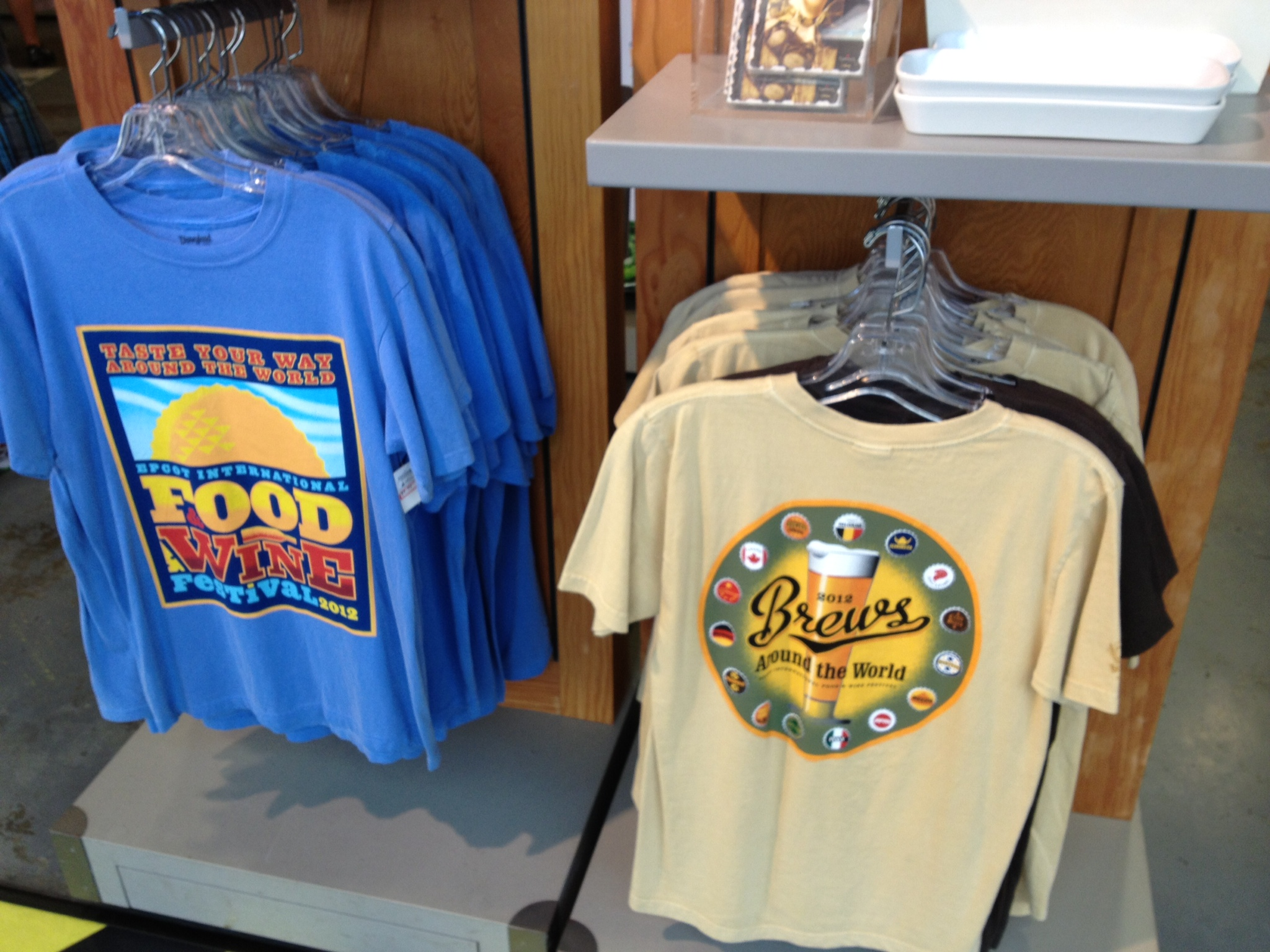 2012 Food & Wine shirts