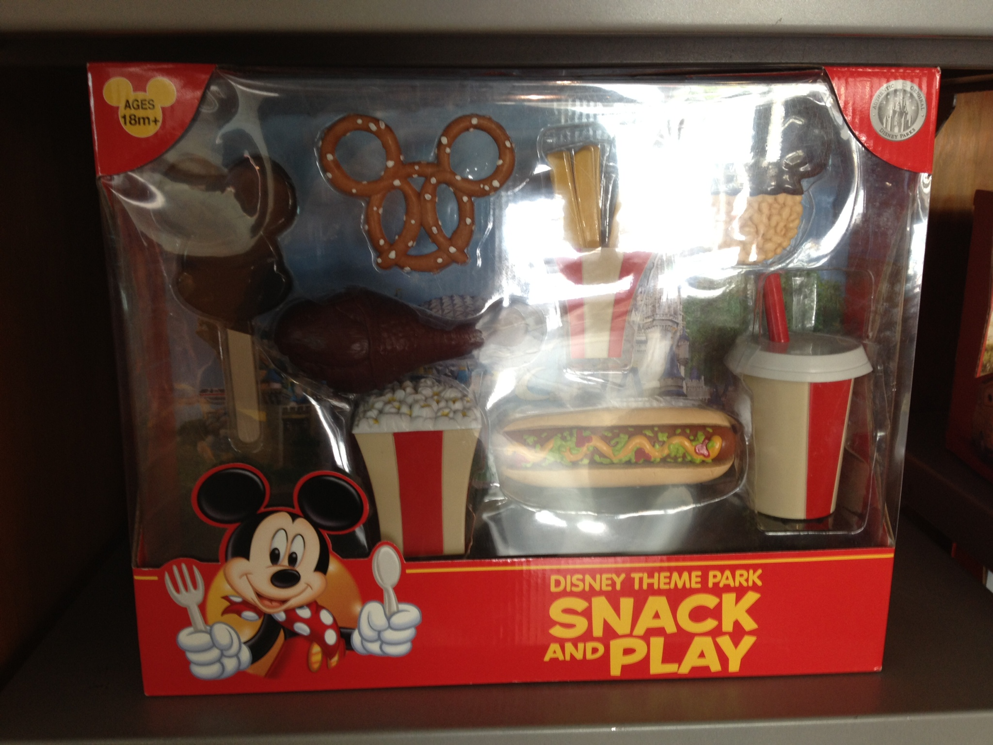 Snack & Play toy set