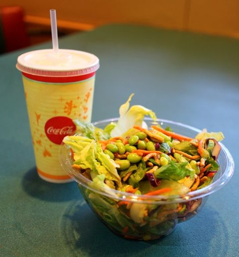 Asian Salad at ABC Commissary