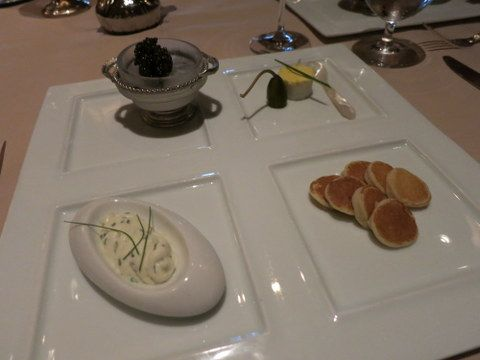 While you're indulging at V&A's, why not splurge a little more with the caviar add-on?