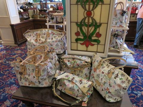 All the Disney Dooney's are luxury items, but the large weekender is the top of the line.