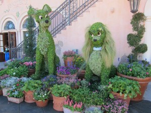 Topiary Lady & the Tramp