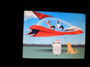 Your Spaceship Earth future might include a pet dog.