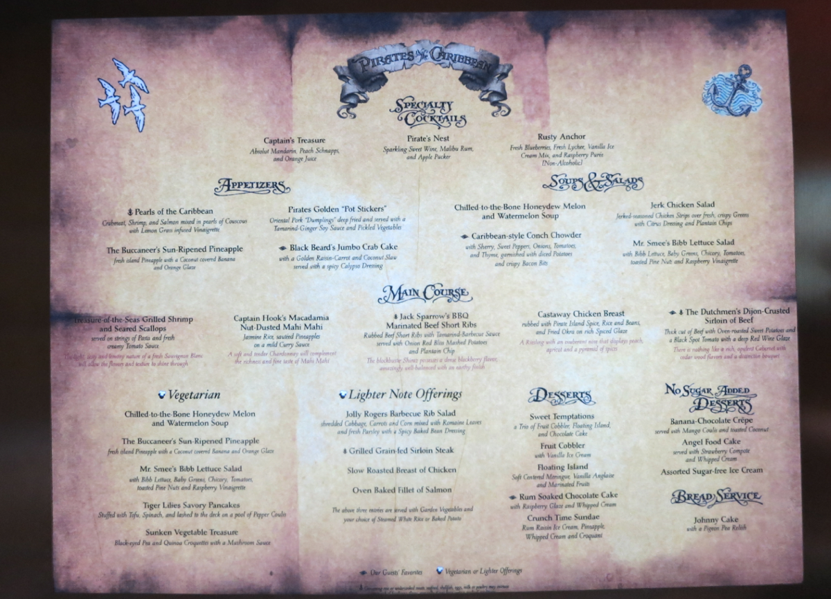 A Guide to Drinking on a Disney Cruise • The Disney Cruise ... |Disney Cruise Bar Menu