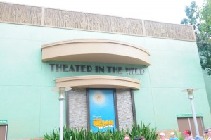Make use of the bathrooms at the Finding Nemo - The Musical exit