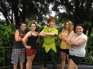 Peter Pan may never grow up, but my siblings and I had to for our first Disney trip without parents.