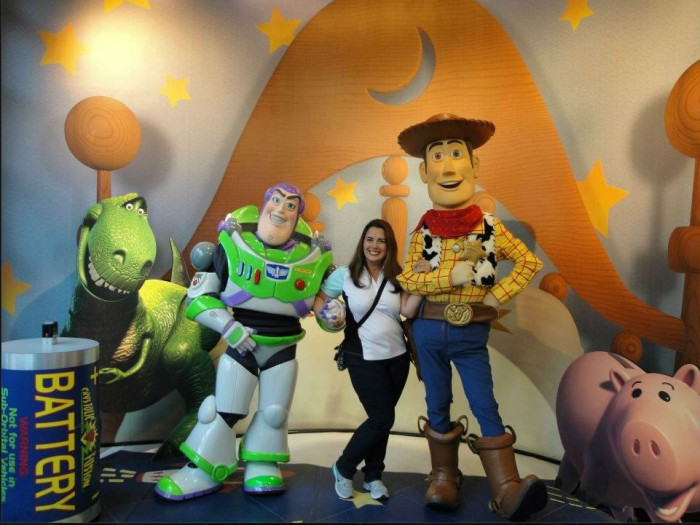 Buzz and Woody are big, even for adults!