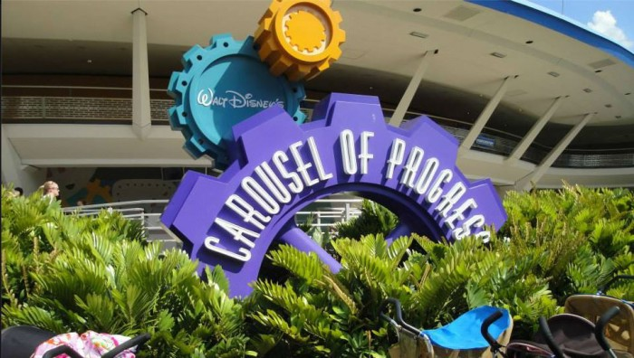 Escape the heat by enjoying the Carousel of Progress.