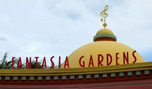 Disney World Mini Golf - Fantasia Gardens