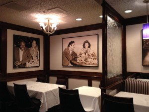 Steakhouse 55 Walt Disney and Shirley Temple Portrait