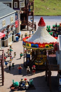 Miniland street scene at Legoland Florida. Photo by Thomas Cook