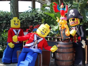 Legoland pirates are always ready to shiver your timbers. Photo by Thomas Cook
