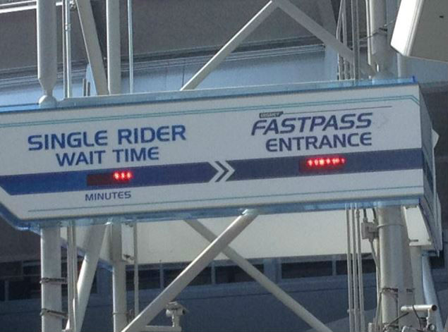 The Single Rider option at Test Track in Epcot is just one of perks of being a solo traveler