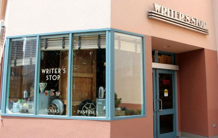 Writer's Stop in Hollywood Studios is a great place to cuddle up with a warm cup of coffee.