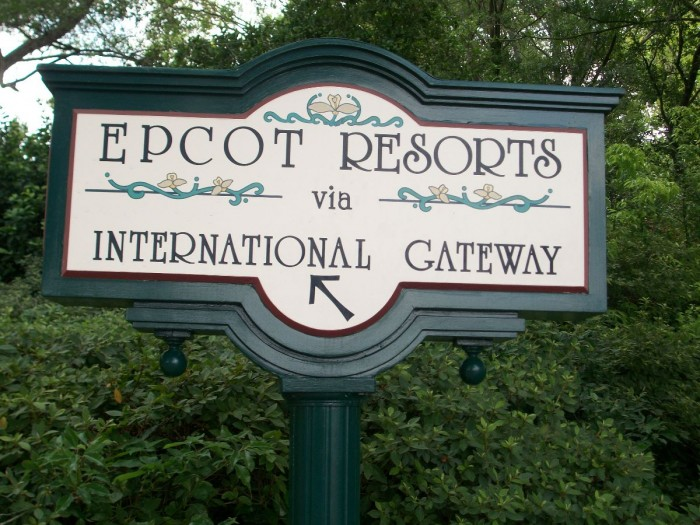 Epcot's International Gateway