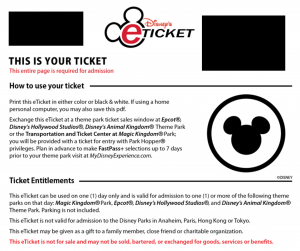 Disney World Ticket Scams