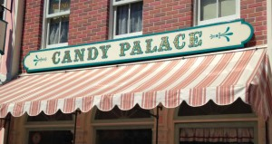Candy Palace sign - Disneyland - Natalie Reinert