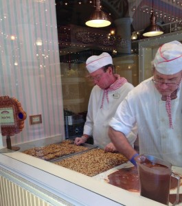 Disneyland Candy Palace show kitchen - Natalie Reinert