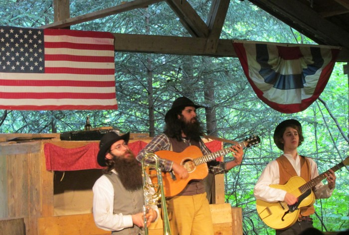 Liarsville Gold Rush Trail Camp Melodrama ©www.disneyworldenthusiast.com