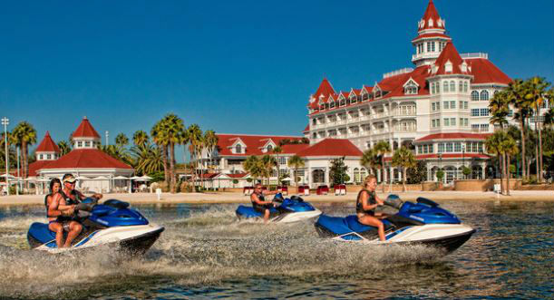 Enjoy all the options the Sammy Duvall Watersports Centre has to offer!  Photo courtesy of Disney (c)