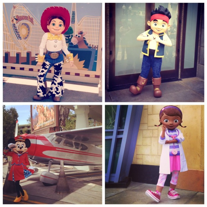 DCA Characters