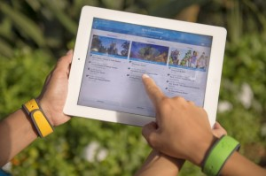Get help with the My Disney Experience app at the MyMagic+ Service Center. Photo copyright Disney.