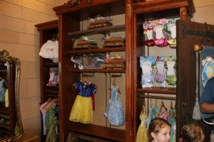 Bibbidi Bobbidi Boutique Available Costumes