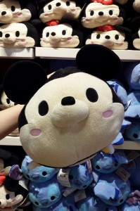 "The large Mickey Tsum Tsum is $24.95 and is 17"" long."