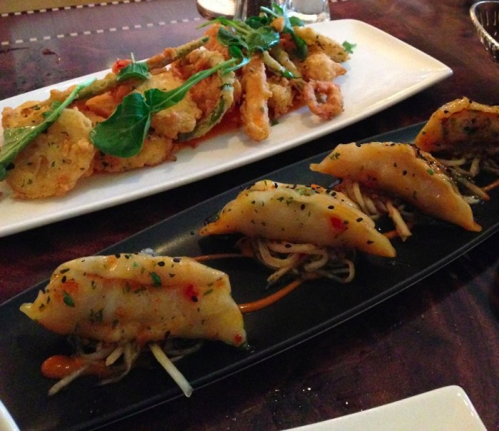 Fritto Misto and Pot Stickers - Carthay Circle - Natalie Reinert