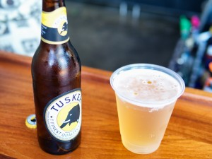 Tusker Beer at the Dawa Bar