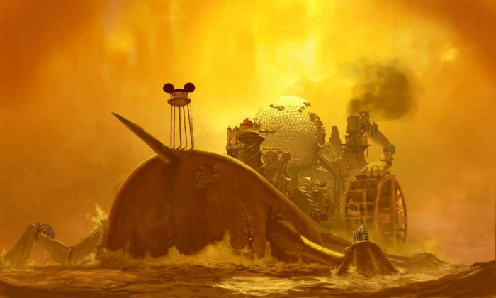 Concept Art for Epic Mickey