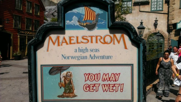 Disney's Maelstrom at Epcot's Norway Pavillion