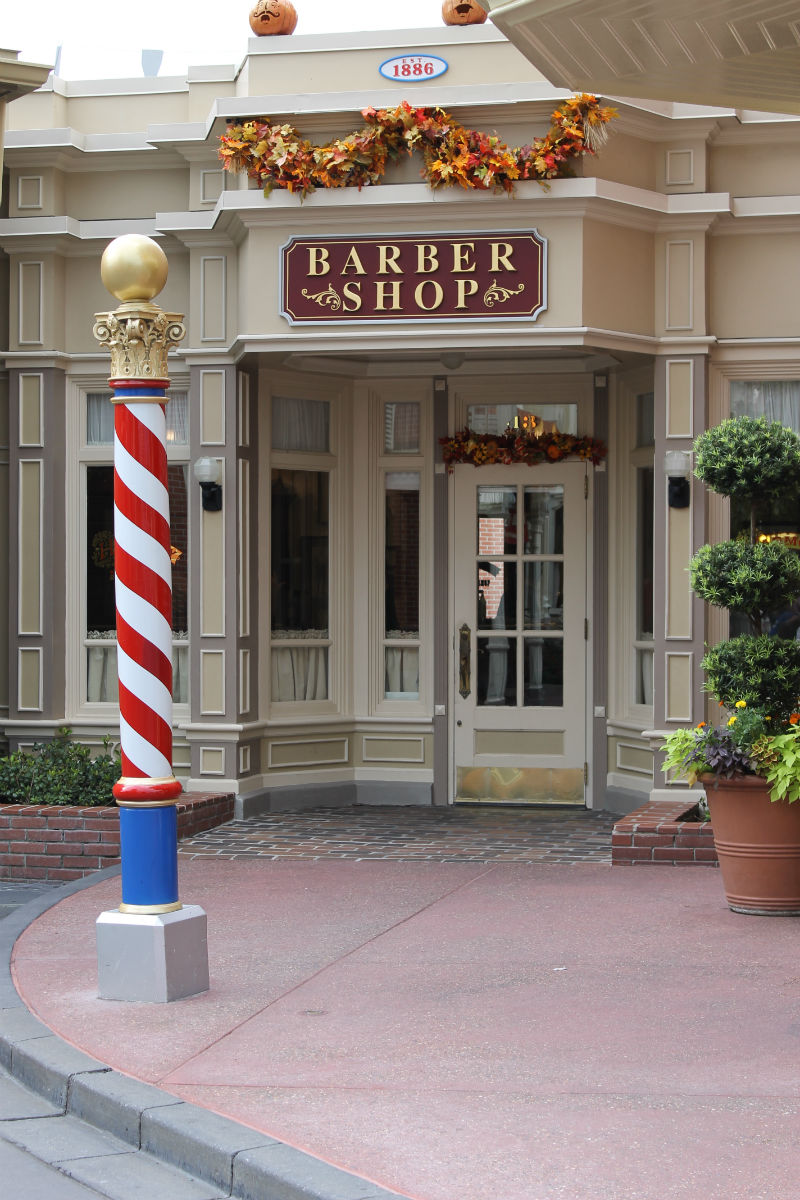 Disney World S Harmony Barber Shop A Magical First Haircut