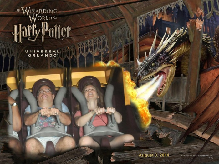 Forbidden Journey is one of MANY simulator rides at Universal