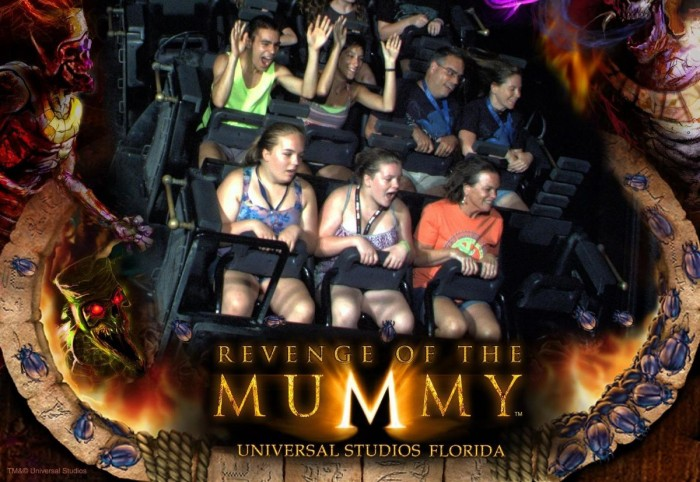 The Mummy Ride thrills, but you need to lock your stuff behind.