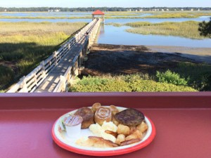 Where else can you get a Mickey waffle with this view? Photo - Laurel Stewart