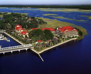 The resort feels secluded, but not so much as in this publicity shot. Photo © Disney