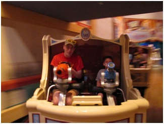 What school aged child doesn't enjoy the 3-D arcade wonder that is Toy Story Midway Mania?