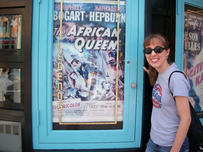 African Queen Poster at Hollywood Studios