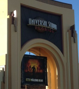 The gate to the Studios.