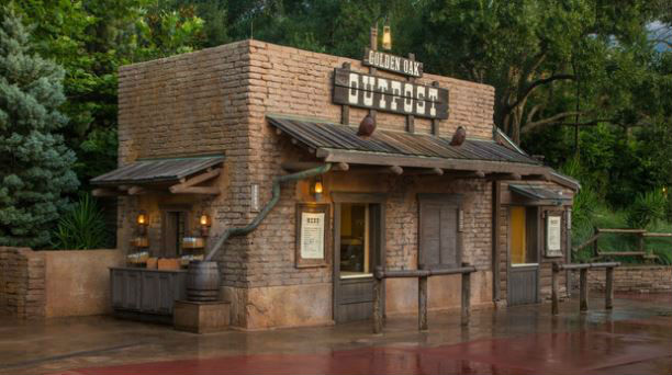 Golden Oak Outpost is home for some tasty gourmet waffle fries.  Photo courtesy of Disney (c)