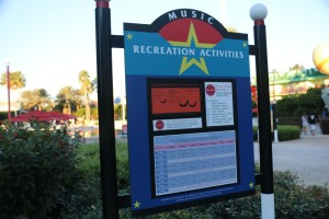 The activity schedule, including movie information, will be posted at your resort.